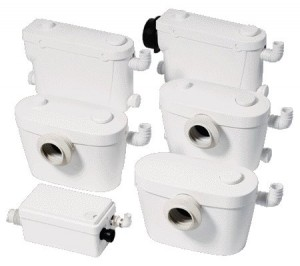 Sololift2 – pompe pentru WC
