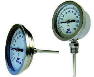 Termometre bimetalice de inox