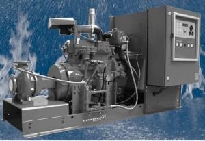 Grupuri de pompare antiincendiu cu pompe diesel, aprobate VdS