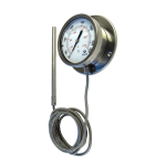 Termometre cu citire la distanta, capilare de inox