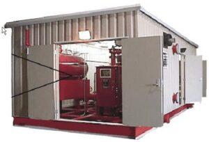 """Sisteme antiincendiu compacte tip """"container"""""""