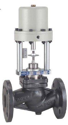 Robinet cu ventil actionare pneumatica PN 16