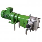 SLR-A – pompa cu lobi pentru produse abrazive